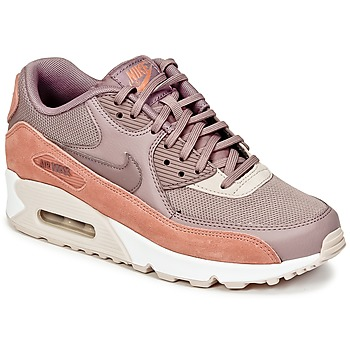 Schuhe Damen Sneaker Low Nike AIR MAX 90 W Maulwurf / Rose