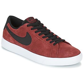 Schuhe Herren Sneaker Low Nike BLAZER VAPOR LOW SB Bordeaux / Weiss