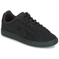 Schuhe Kinder Sneaker Low Nike COURT ROYALE GRADE SCHOOL Schwarz