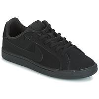 Schuhe Kinder Sneaker Low Nike COURT ROYALE GRADE SCHOOL Schwarz