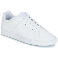 Schuhe Jungen Sneaker Low Nike COURT ROYALE GRADE SCHOOL Weiss