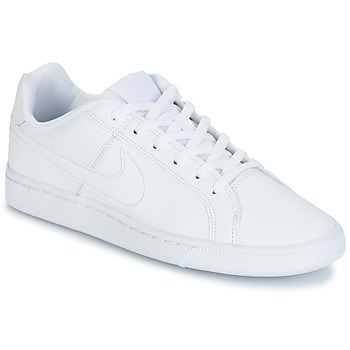 Schuhe Kinder Sneaker Low Nike COURT ROYALE GRADE SCHOOL Weiss