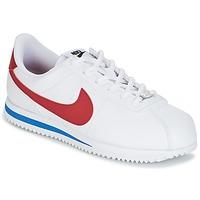 Schuhe Jungen Sneaker Low Nike CORTEZ BASIC SL GRADE SCHOOL Weiss / Blau / Rot