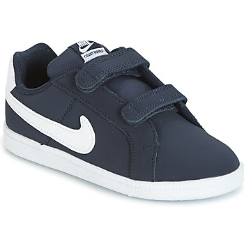 Schuhe Kinder Sneaker Low Nike COURT ROYALE TODDLER Blau / Weiss