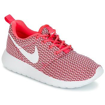 Schuhe Mädchen Sneaker Low Nike ROSHE ONE GRADE SCHOOL Rose / Weiss