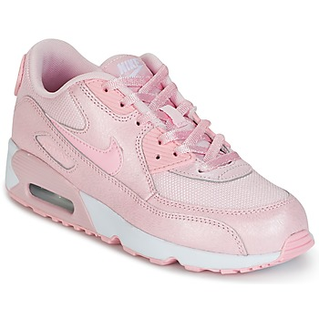 Schuhe Mädchen Sneaker Low Nike AIR MAX 90 MESH SE PRESCHOOL Rose