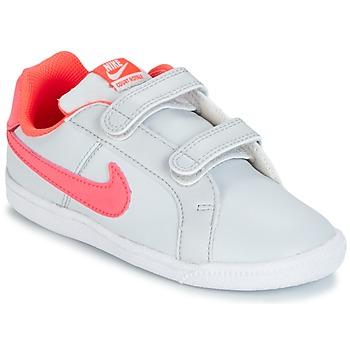 Schuhe Mädchen Sneaker Low Nike COURT ROYALE TODDLER Grau / Rose