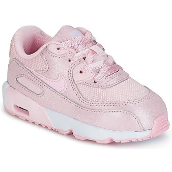 Schuhe Mädchen Sneaker Low Nike AIR MAX 90 MESH SE TODDLER Rose