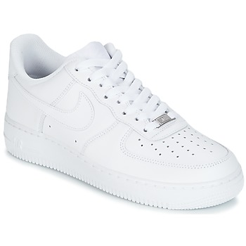 Schuhe Herren Sneaker Low Nike AIR FORCE 1 07 Weiss