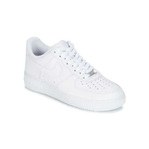 promo code f1d6c 517fa Schuhe Herren Sneaker Low Nike AIR FORCE 1 07 Weiss