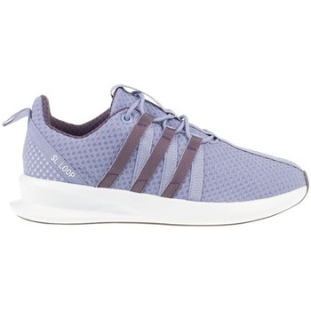 Schuhe Kinder Sneaker Low adidas Originals ZX Flux SL Loop Racer J Violett