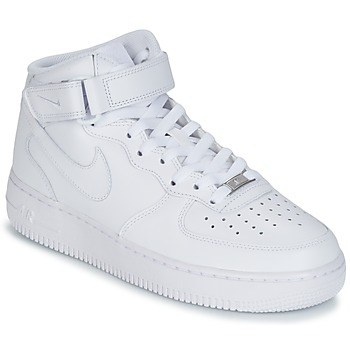 Sneaker Nike AIR FORCE 1 MID 07 LEATHER Weiss 350x350