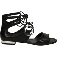 Schuhe Damen Sandalen / Sandaletten What For KID SKIN Schwarz