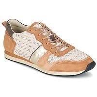 Schuhe Damen Sneaker Low Bocage LANNY Cognac / Weiss