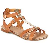 Schuhe Damen Sandalen / Sandaletten Bocage JARET Cognac