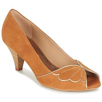 Schuhe Damen Pumps Bocage DAPHNE Cognac