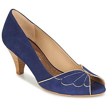 Schuhe Damen Pumps Bocage DAPHNE Marine