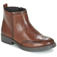 Schuhe Mädchen Boots Geox J SOFIA F Braun