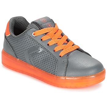 Schuhe Jungen Sneaker Low Geox J KOMMODOR B.B Grau / Orange