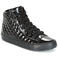 Schuhe Mädchen Sneaker High Geox J KALISPERA G.F Schwarz