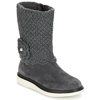 Schuhe Mädchen Klassische Stiefel Geox J THYMAR G. F Grau