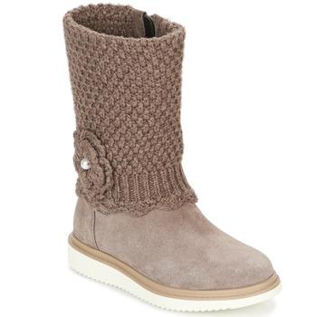 Schuhe Mädchen Klassische Stiefel Geox J THYMAR G. F Beige