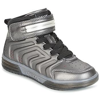 Schuhe Jungen Sneaker High Geox J ARGONAT B. B Schwarz