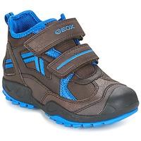 Schuhe Jungen Sneaker Low Geox J N.SAVAGE B.B Braun / Blau