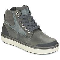 Schuhe Jungen Sneaker High Geox J MATT.B ABX C Grau