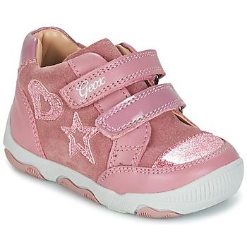 Schuhe Mädchen Sneaker Low Geox B N.BALU' G. C Rose