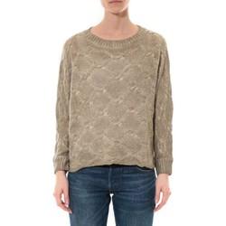 Kleidung Damen Pullover De Fil En Aiguille Pull  Wiya Beige  W7903 Beige