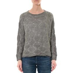 Kleidung Damen Pullover De Fil En Aiguille Pull  Wiya Gris  W7903 Grau