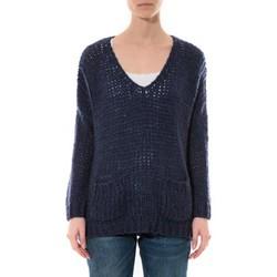 Kleidung Damen Pullover De Fil En Aiguille Pull  Senes  Bleu  Ym135 Blau