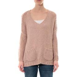 Kleidung Damen Pullover De Fil En Aiguille Pull  Senes Rose Ym135 Rose
