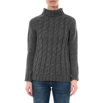 Kleidung Damen Pullover De Fil En Aiguille Pull Farfalla Gris foncé Grau