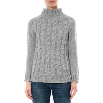 Kleidung Damen Pullover De Fil En Aiguille Pull Farfalla Gris clair Grau