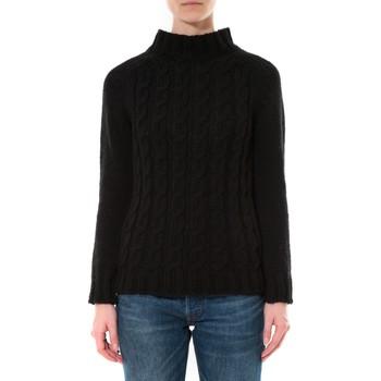Kleidung Damen Pullover De Fil En Aiguille Pull Farfalla Noir Schwarz
