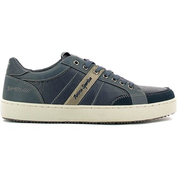 Schuhe Herren Sneaker Low Lotto S4823 Shoes with laces Man Blue Blue