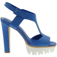 Schuhe Damen Sandalen / Sandaletten Bruno Premi F3402 Sandelholz Frau Bluette Bluette
