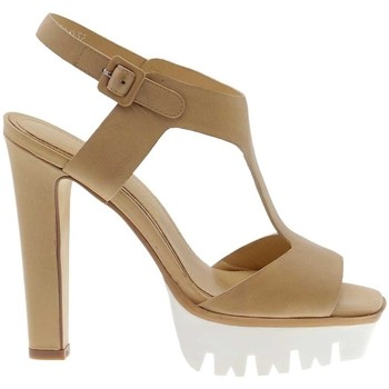 Schuhe Damen Sandalen / Sandaletten Bruno Premi F3402 Sandelholz Frau natürliche natürliche