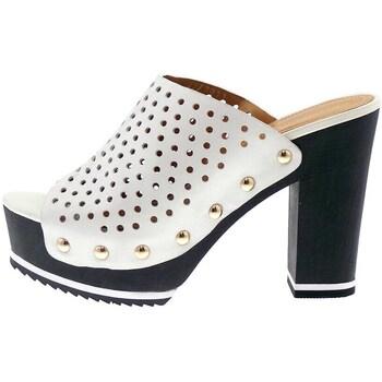 Schuhe Damen Pantoletten / Clogs Bruno Premi F5101 weiß