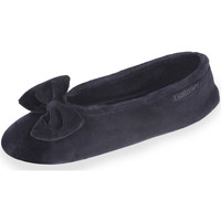 Schuhe Damen Hausschuhe Isotoner Damen Ballerinas schwarz