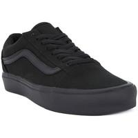 Schuhe Herren Sneaker Low Vans OLD SKOOL LITE Nero