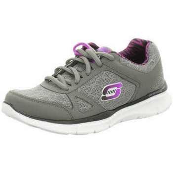 Schuhe Damen Sneaker Low Skechers Usa Deutschl.gmbh - 11898 CCPR CCPR°Charcoal/Purple