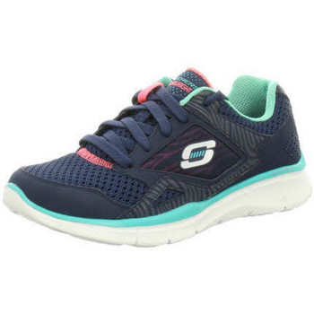Schuhe Damen Sneaker Low Skechers Usa Deutschl.gmbh - 11890 NVTQ NVTQ°Navy/Turquoise