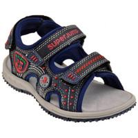 Schuhe Jungen Sandalen / Sandaletten Super Jump 2444Klettsandale Blau