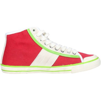 Schuhe Damen Sneaker Low Date TENDER HIGH-92 Rot