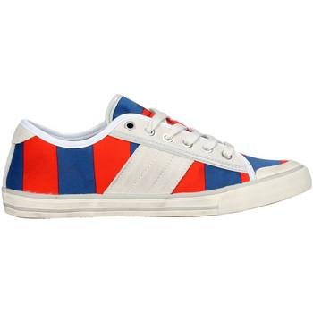 Schuhe Damen Sneaker Low Date TENDER LOW-36 Blau/Orange