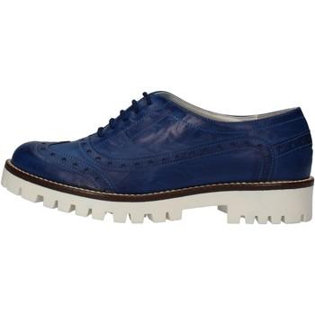 Hb Helene Damenschuhe elegante blau leder AF03