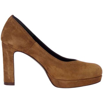 Schuhe Damen Pumps Rosso Reale 918 Pump Frau Leder Leder